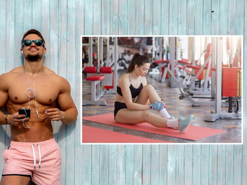 Fitness 42 - Öntapadós poszter