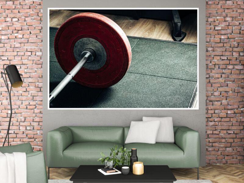 Fitness 44 - Öntapadós poszter