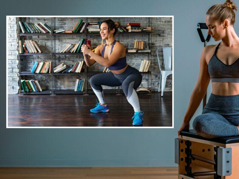 Fitness 47 - Öntapadós poszter