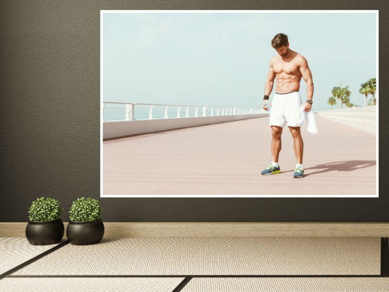 Fitness 59 - Öntapadós poszter