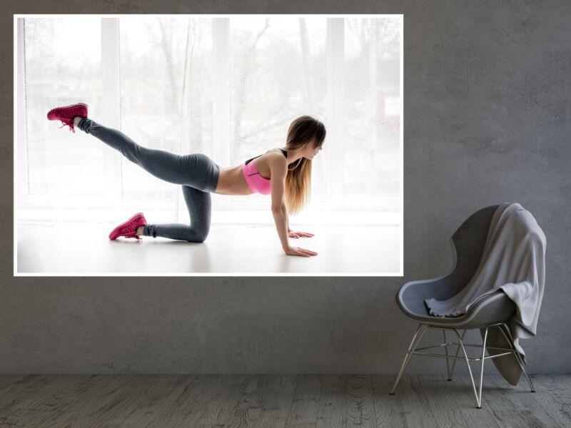 Fitness 6 - Öntapadós poszter