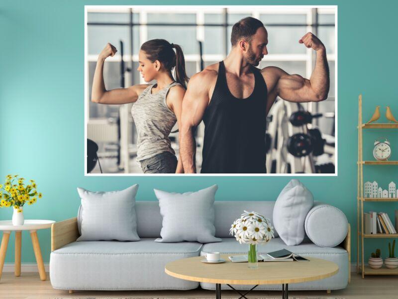 Fitness 72 - Öntapadós poszter
