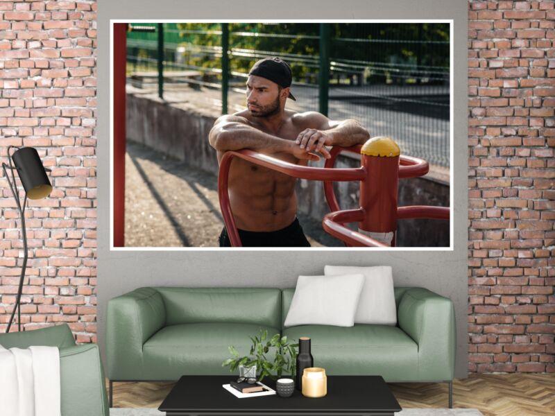 Fitness 78 - Öntapadós poszter