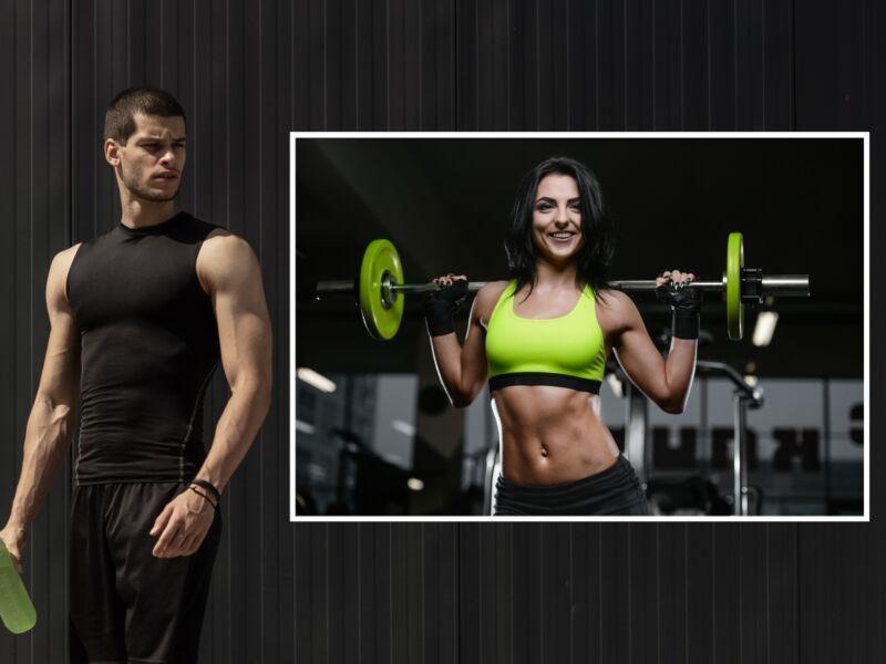 Fitness 8 - Öntapadós poszter