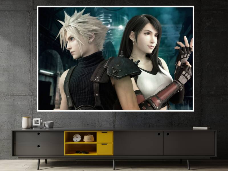 Final Fantasy 7 Remake - Öntapadós poszter