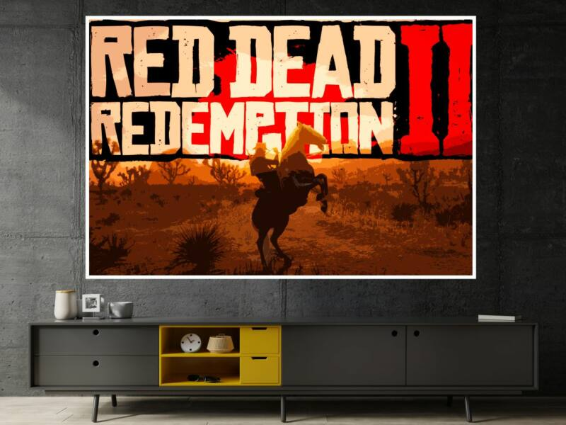 Red Dead Redemption - Öntapadós poszter