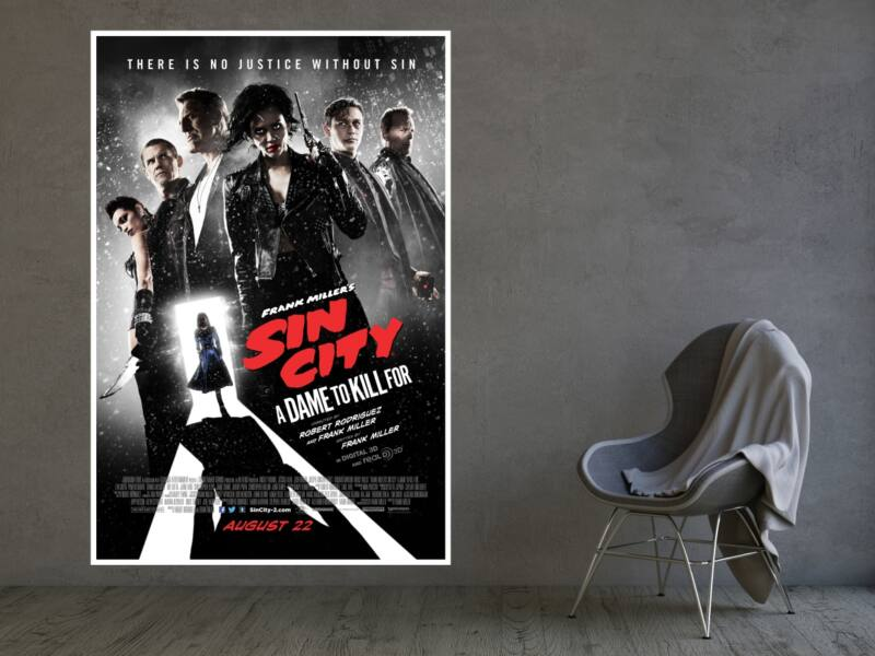 Sin City 2 A Dame to Kill For - Öntapadós poszter
