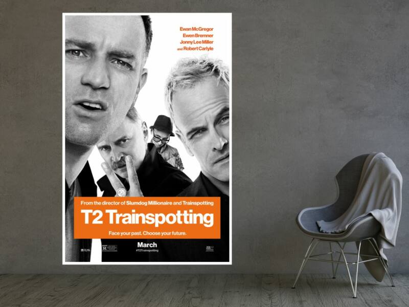 T2 Trainspotting - Öntapadós poszter