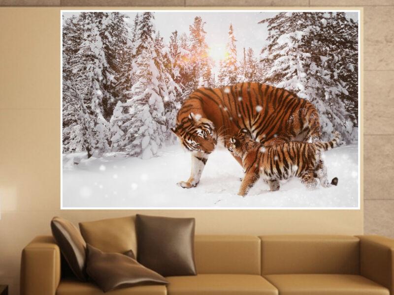 Tigris 07 Öntapadós Poszter