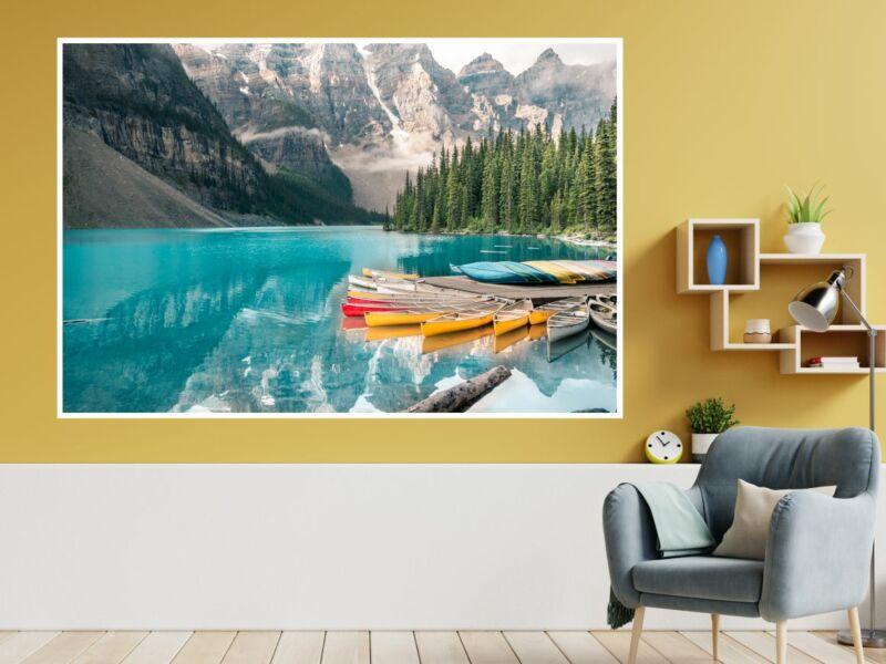 Kanada - Moréna tó öntapadós poszter