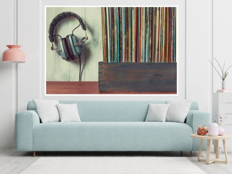 Zene 15 - Öntapadós poszter