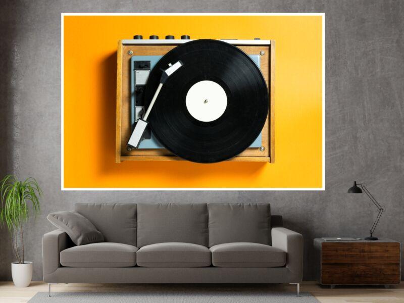 Zene 34 - Öntapadós poszter