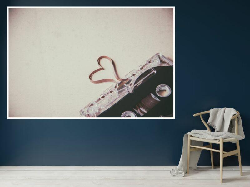 Zene 72 - Öntapadós poszter