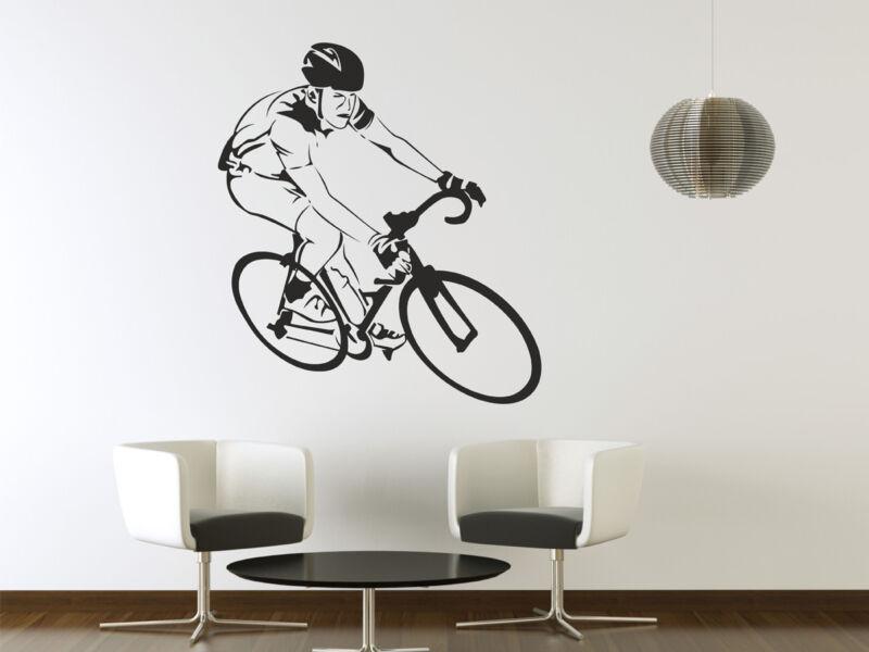 Kerékpáros falmatrica