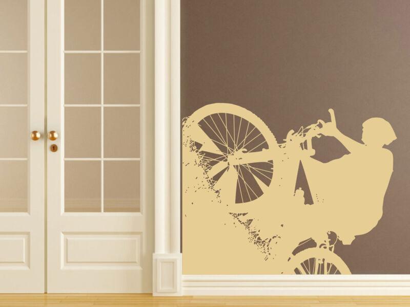 MTB kerékpár falmatrica