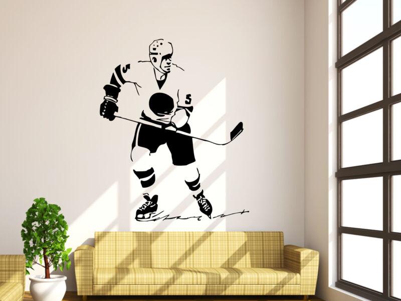 Hockey játékos falmatrica 03