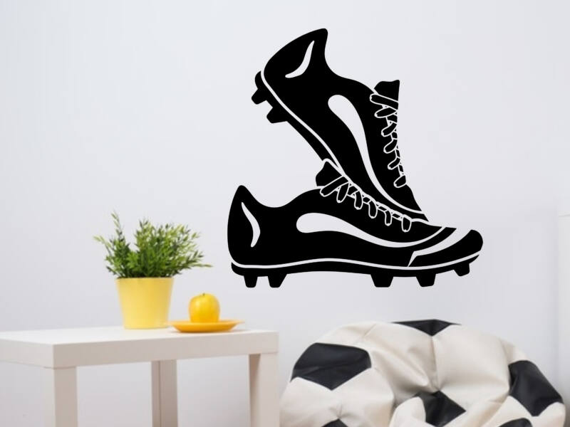 Futball cipő falmatrica
