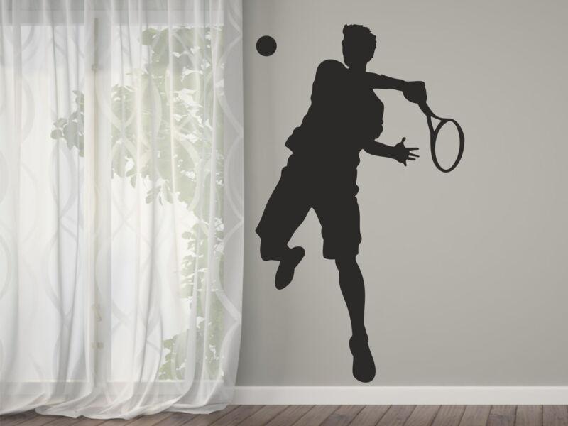 Tenisz játékos falmatrica