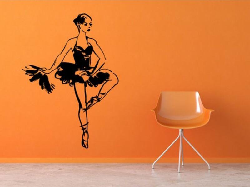 Balett táncos falmatrica 02