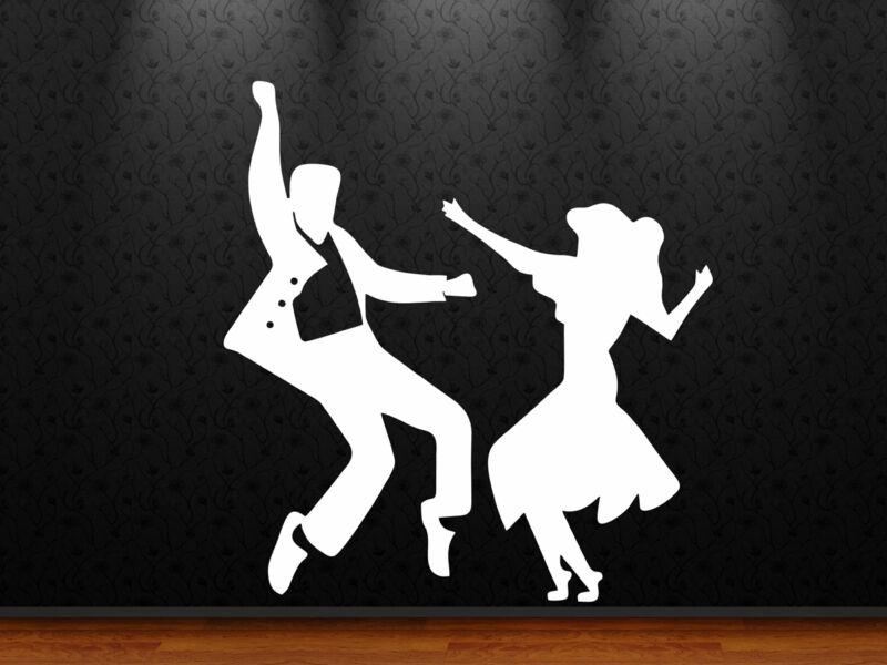 Jive táncosok falmatrica