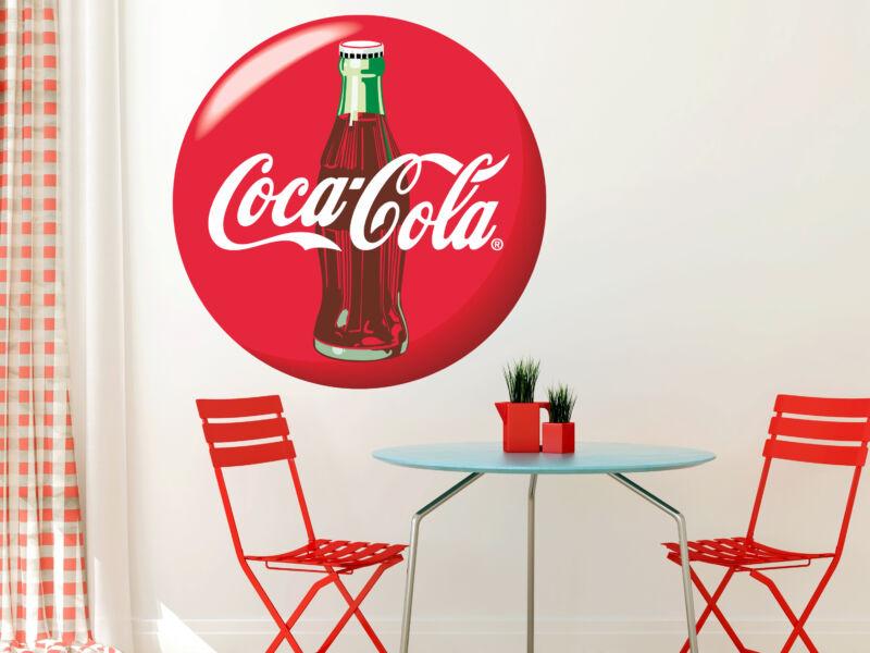 Coca-Cola színes falmatrica
