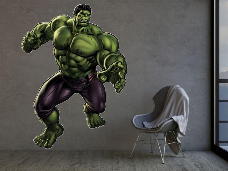 Hulk 01 - Színes falmatrica