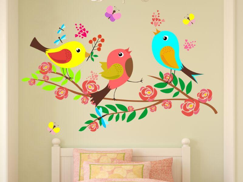 vidám madárkák