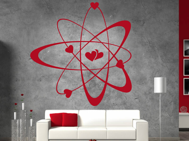 Szív molekula falmatrica
