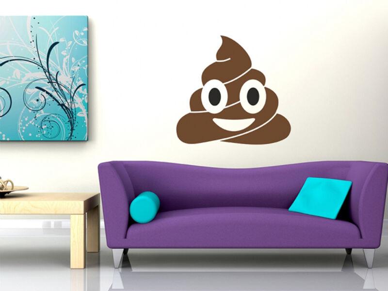 Poop Emoji - Aranyos Kaki hangulatjel falmatrica