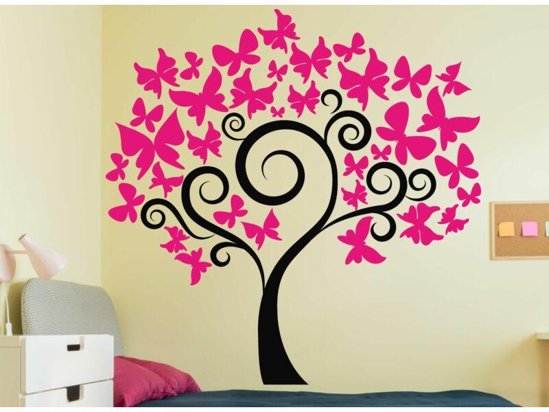 Fa pillangókkal falmatrica