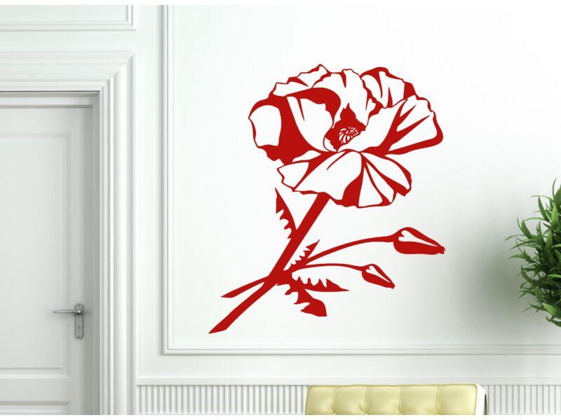 Pipacs virág 02 falmatrica